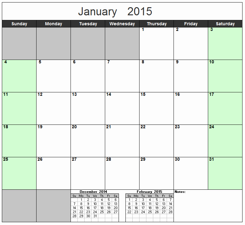2016 Monthly Calendar Template Excel Awesome 2016 and 2017 Calendar Excel