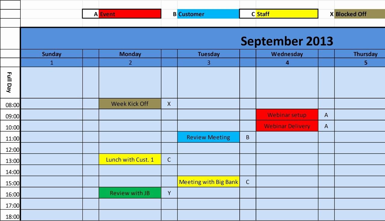 2016 Monthly Calendar Template Excel Beautiful Excel Calendar Template 2014