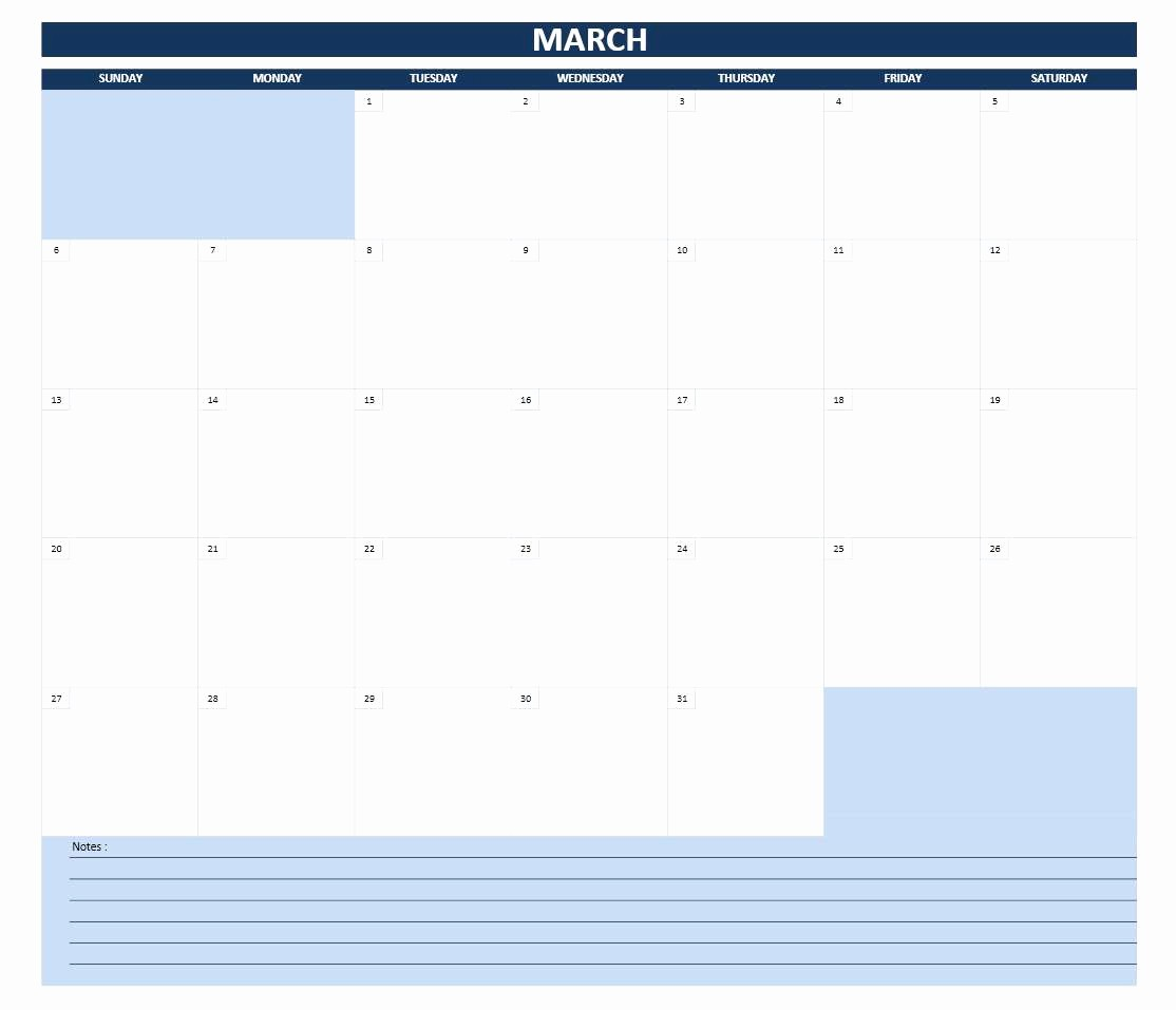 2016 Monthly Calendar Template Excel Best Of 2016 Calendar Templates