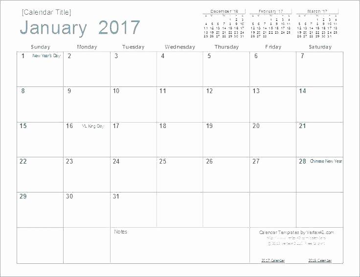 2016 Monthly Calendar Template Excel Best Of Printable 2016 Monthly Schedule – Midcitywestfo