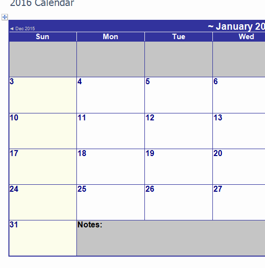 2016 Monthly Calendar Template Excel Best Of the 2016 Monthly Calendar My Excel Templates