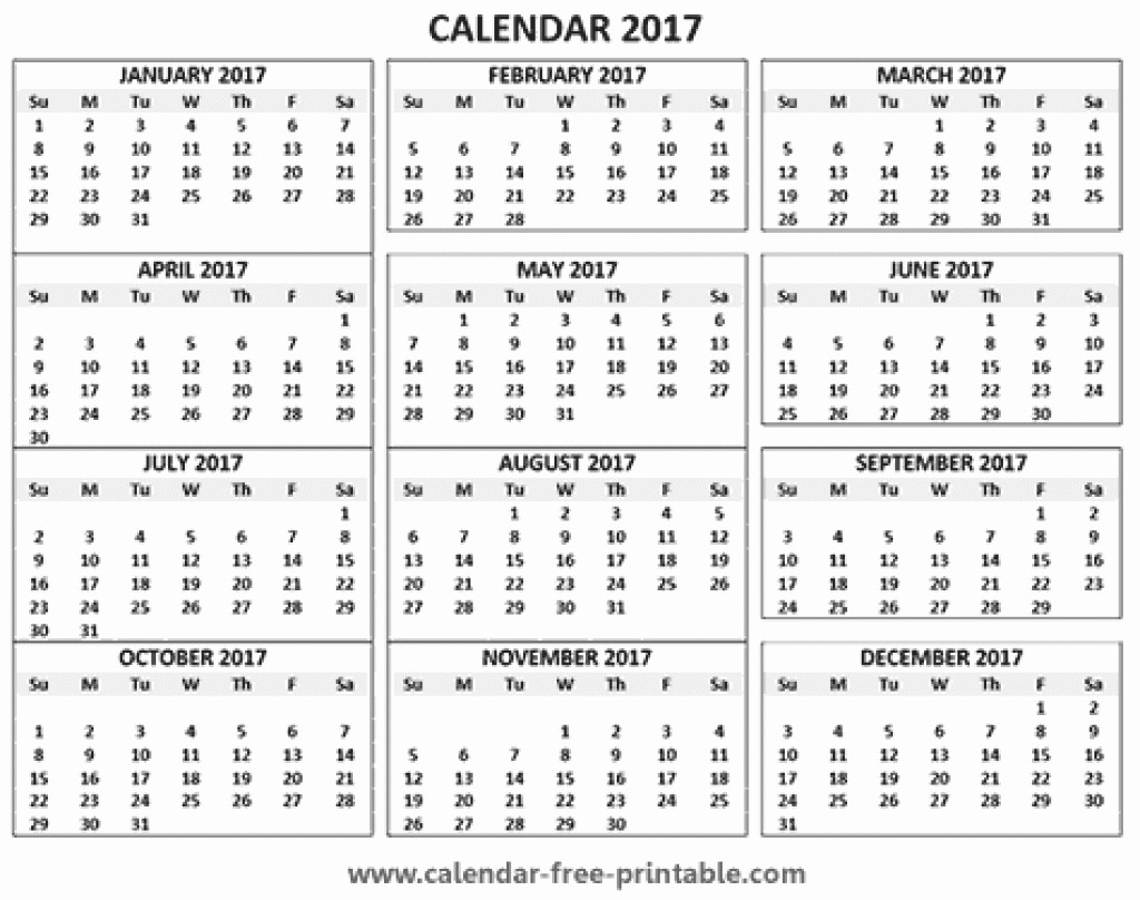2017 12 Month Calendar Printable Best Of 12 Month Calendar Printable Free