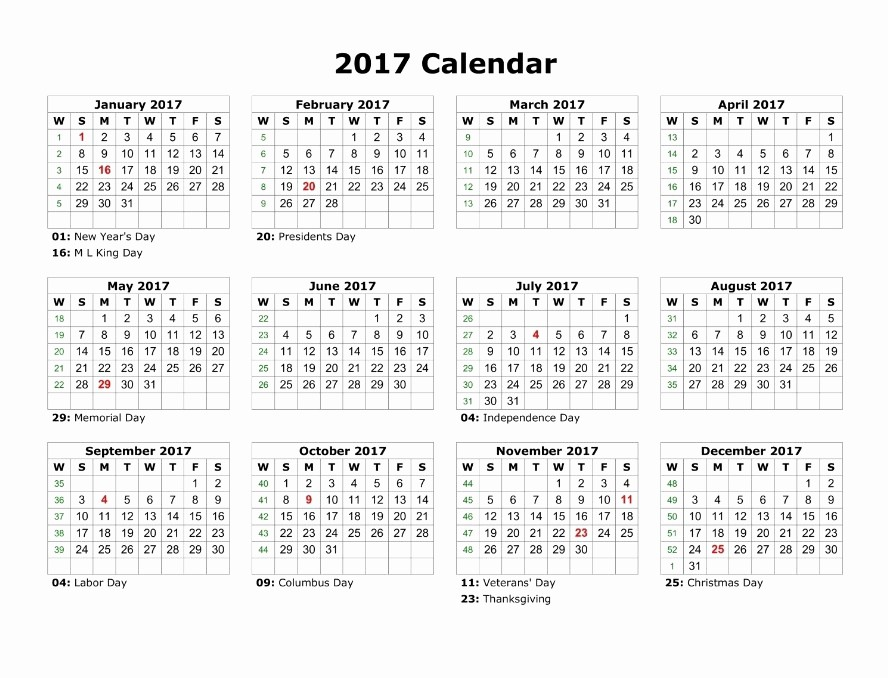 2017 12 Month Calendar Printable Lovely 12 Month Calendar to Print to Pin On Pinterest