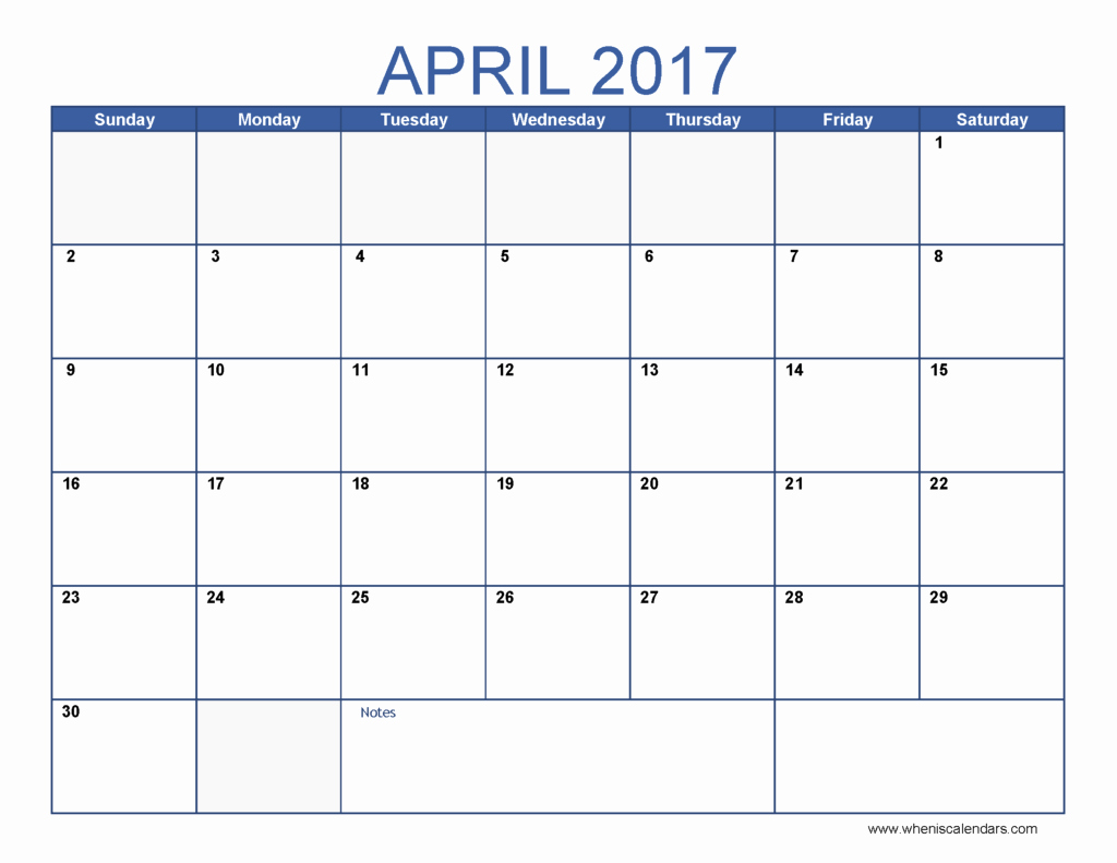 2017 12 Month Calendar Printable New April Calendar Templates