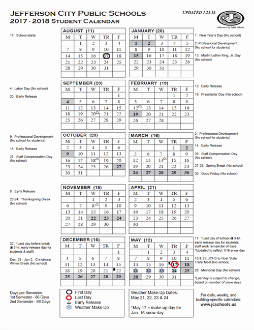 2017-18 Blank Calendar Best Of Yearly District Calendar Printable 2017 18 Student