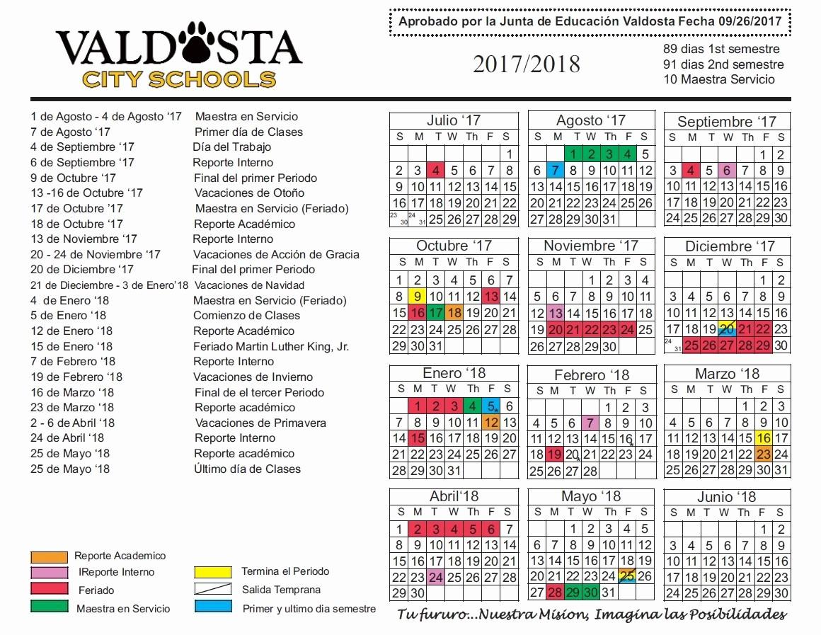 2017-18 Blank Calendar Lovely 2017 18 Ficial Academic Calendar – Student Support