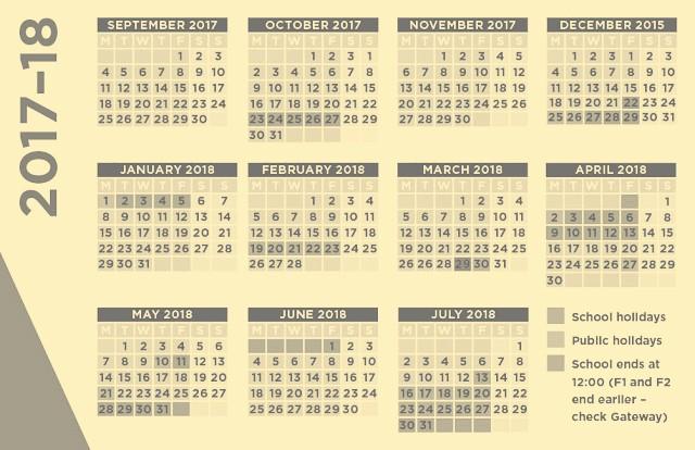 2017-18 Blank Calendar Luxury 2017 Arabic Calendar