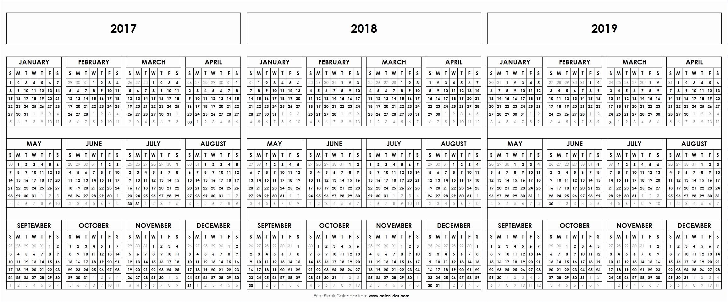 2017-2018 Blank Calendar Lovely Fresh August 2019 Calendar Printable