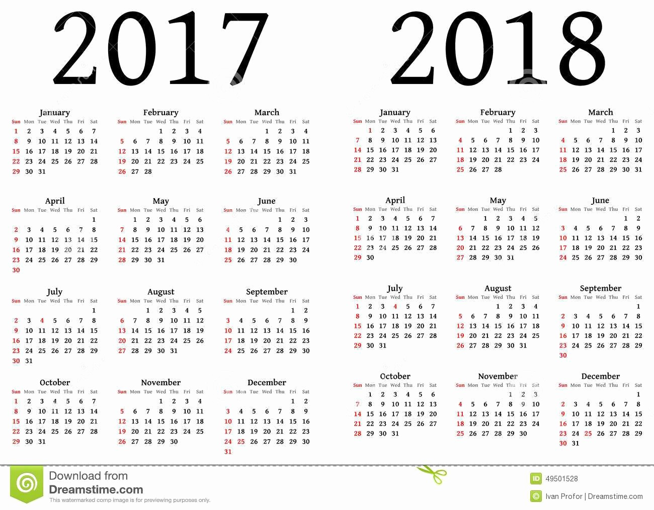 2017-2018 Printable Calendar Best Of Julian Calendar 2018