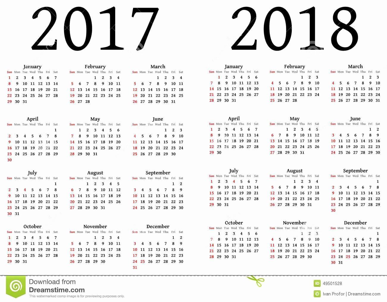 2017-2018 Printable Calendar Best Of Julian Calendar 2018