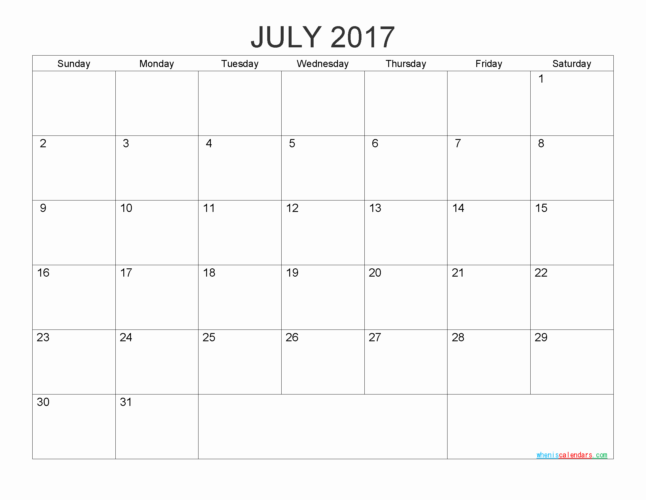2017 Calendar Month by Month Unique Free Printable Calendar 2017 Monthly Calendar by Pdf