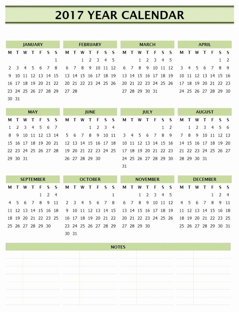 2017 Calendar Template Word Document Beautiful 2017 Year Calendar Template