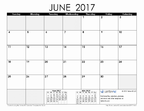 2017 Calendar Template Word Document Luxury June 2017 Word Calendar Wordcalendar Calendartemplates