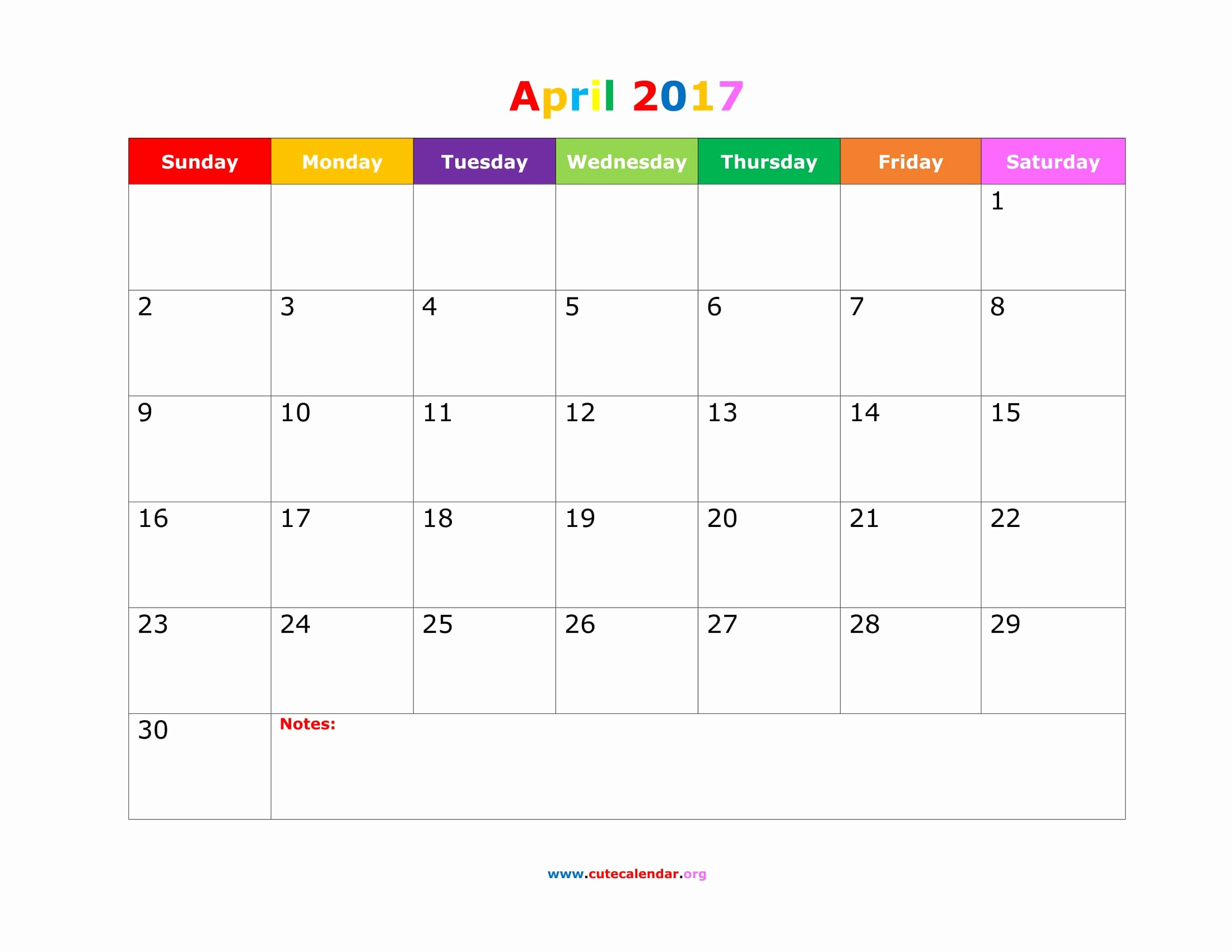 2017 Calendar Template Word Document New April 2017 Calendar Word