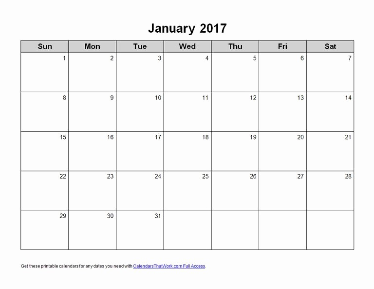 2017 Calendar Template Word Document Unique Ms Office Calendar Templates 2017