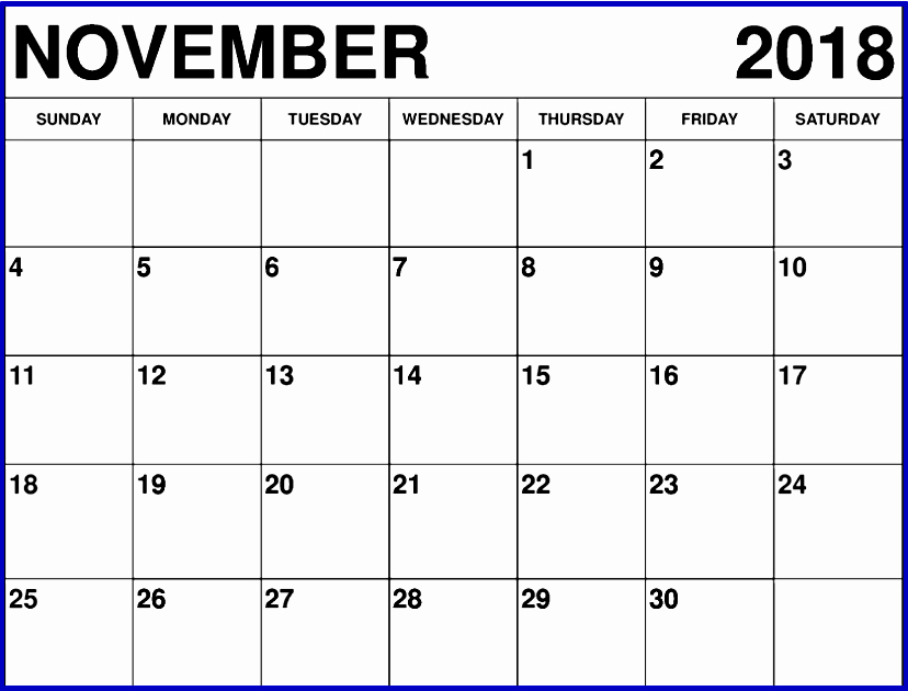 2017 Editable Calendar with Holidays Awesome November 2018 Calendar Editable Free Best Calendar