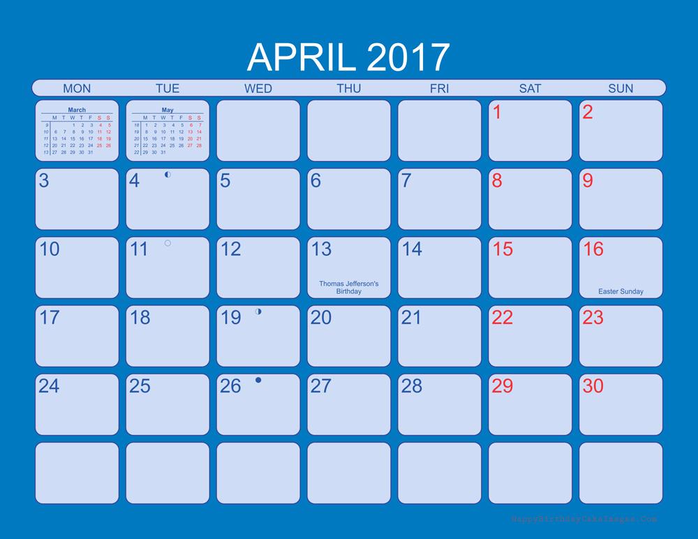 2017 Editable Calendar with Holidays Beautiful April 2017 Calendar Printable Word Calendar Template 2018