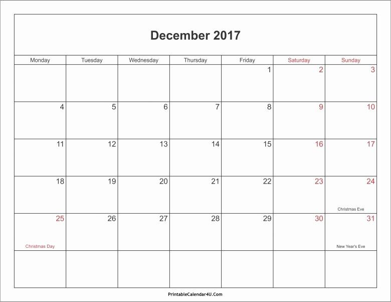 2017 Editable Calendar with Holidays Best Of Calendar December 2017 In Africa Free Calendar Template