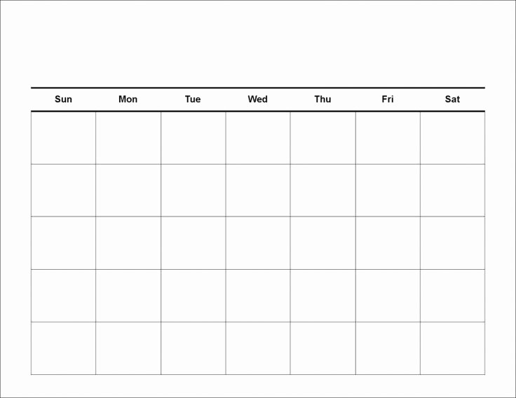 2017 Full Year Calendar Template Lovely Blank Calendar Template 2017