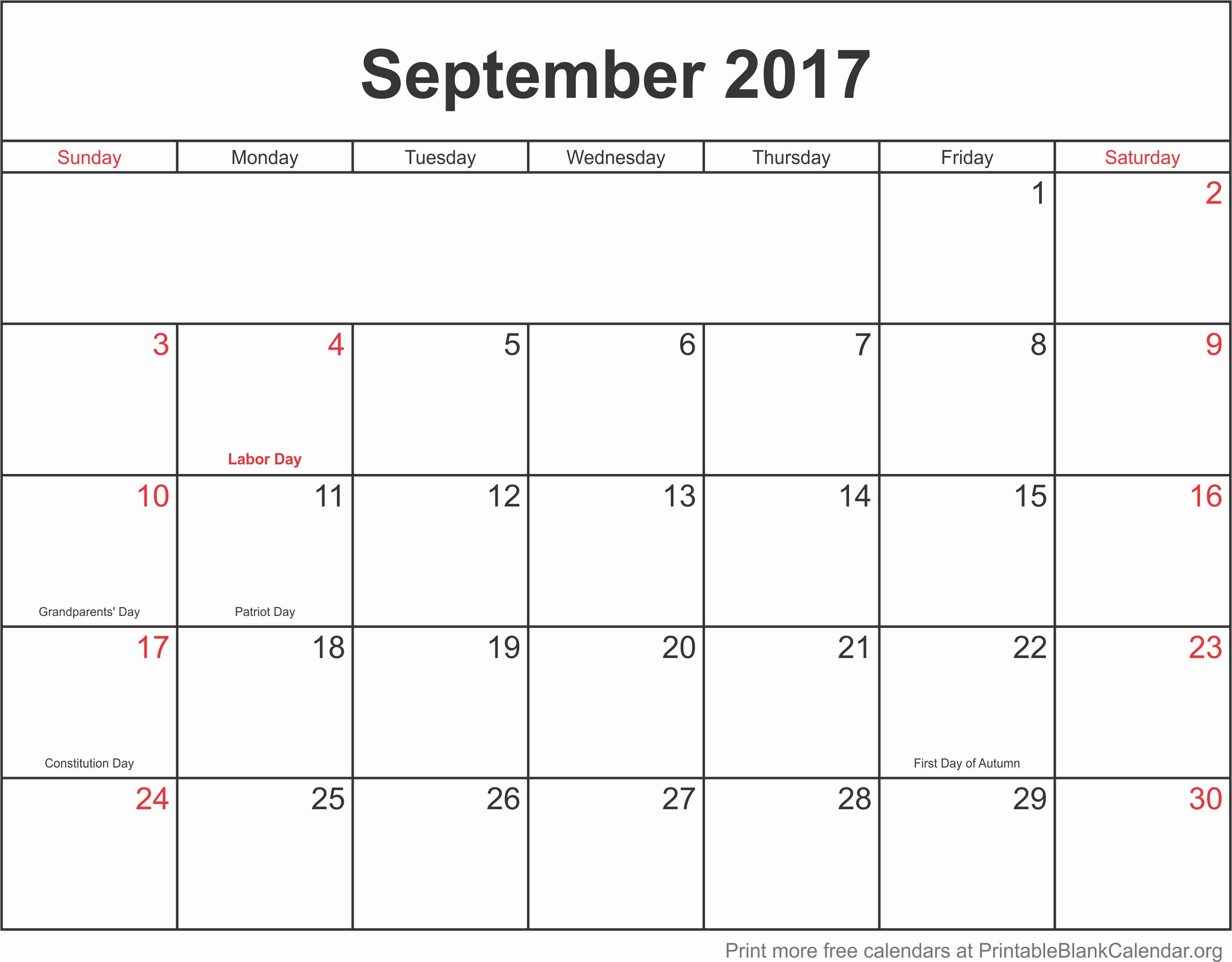 2017 Monthly Calendar Free Printable Inspirational Printable Monthly Calendar 2017