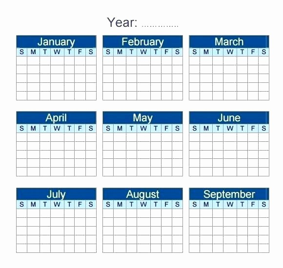 2017 Quarterly Calendar Template Excel Awesome 2017 Yearly Calendar Template Excel Monthly and