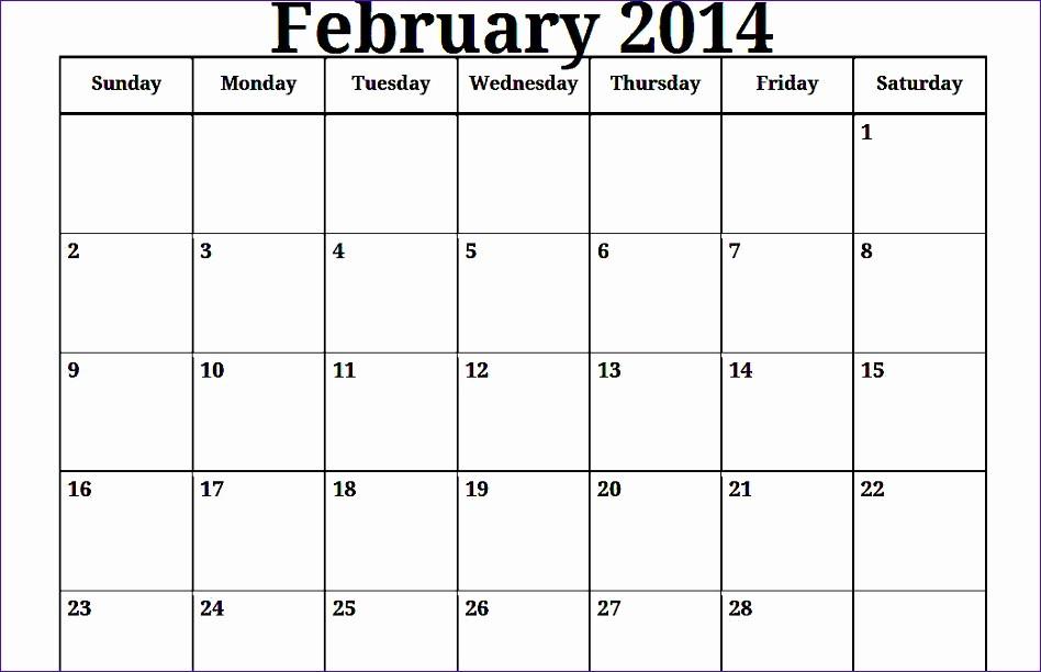 2017 Quarterly Calendar Template Excel Awesome 6 Excel Monthly Calendar Template 2014 Exceltemplates