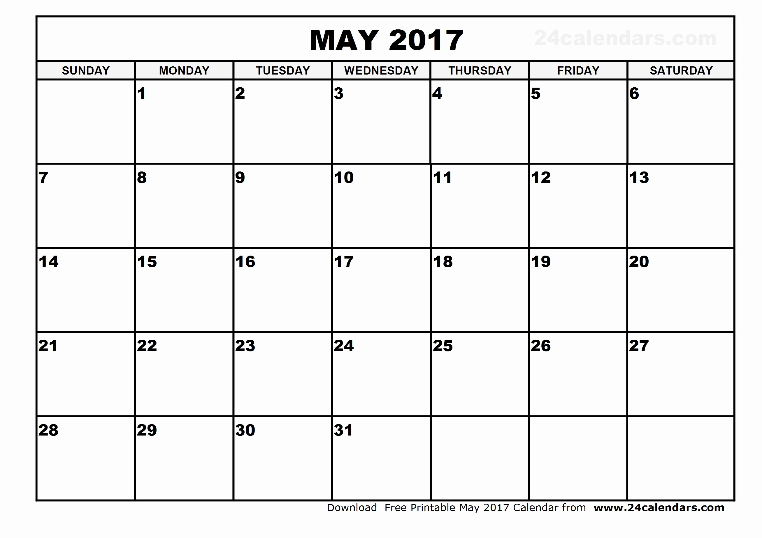 2017 Quarterly Calendar Template Excel Best Of May 2017 Calendar Excel