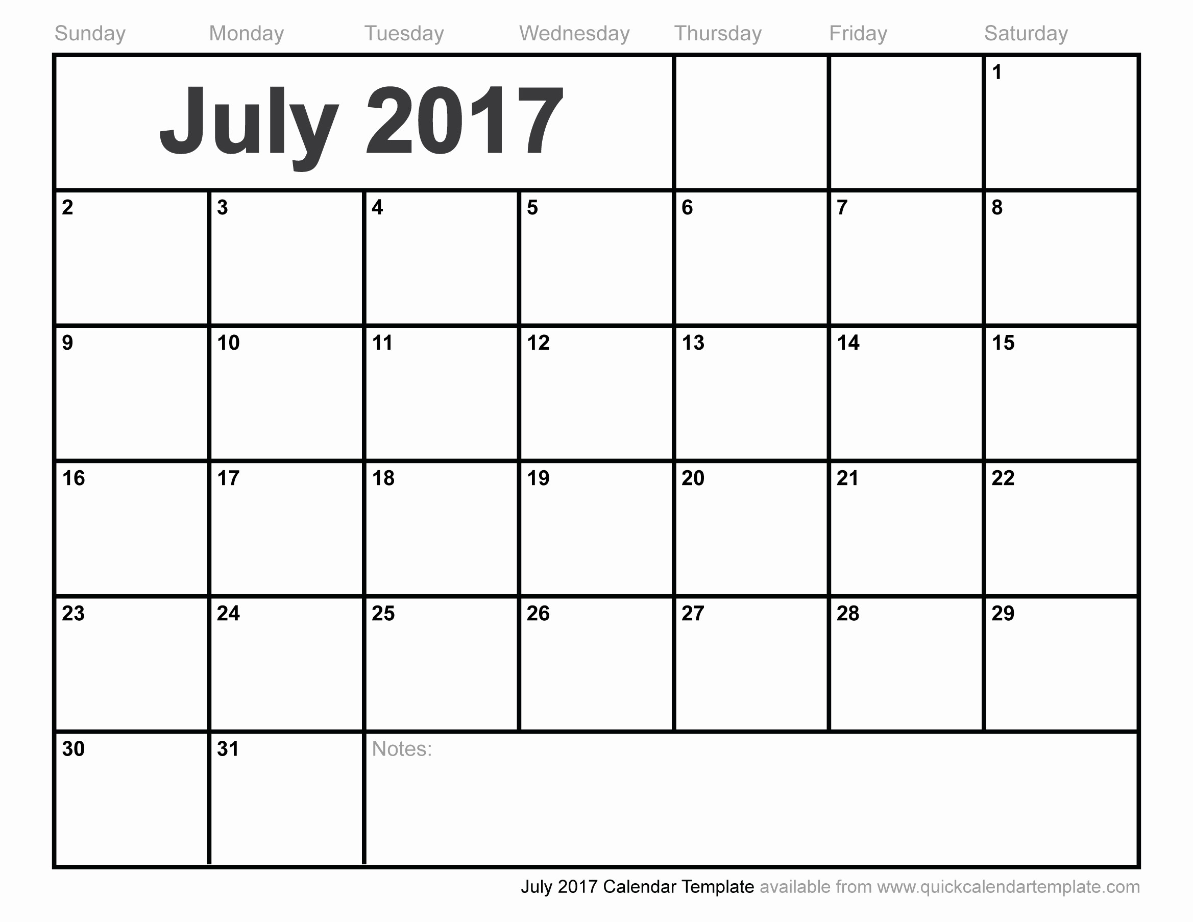 2017 Quarterly Calendar Template Excel Fresh July 2017 Calendar Pdf