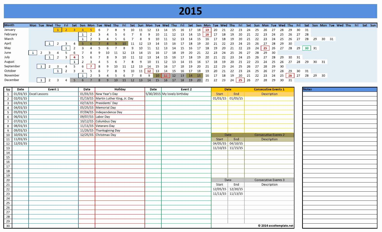 2017 Quarterly Calendar Template Excel Lovely Microsoft Excel Calendar Template 2017