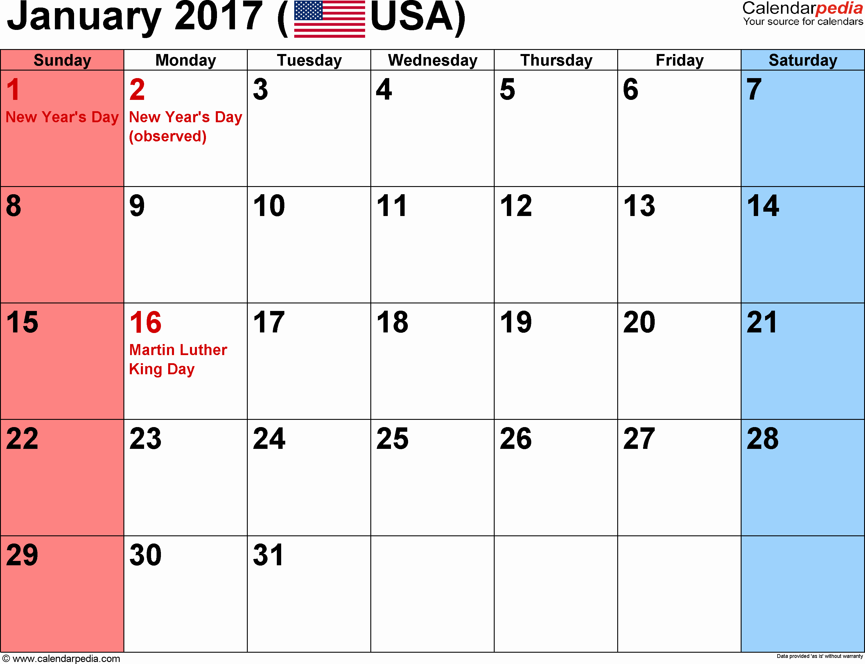 2017 Weekly Calendar with Holidays Best Of December 2017 Calendar with Holidays