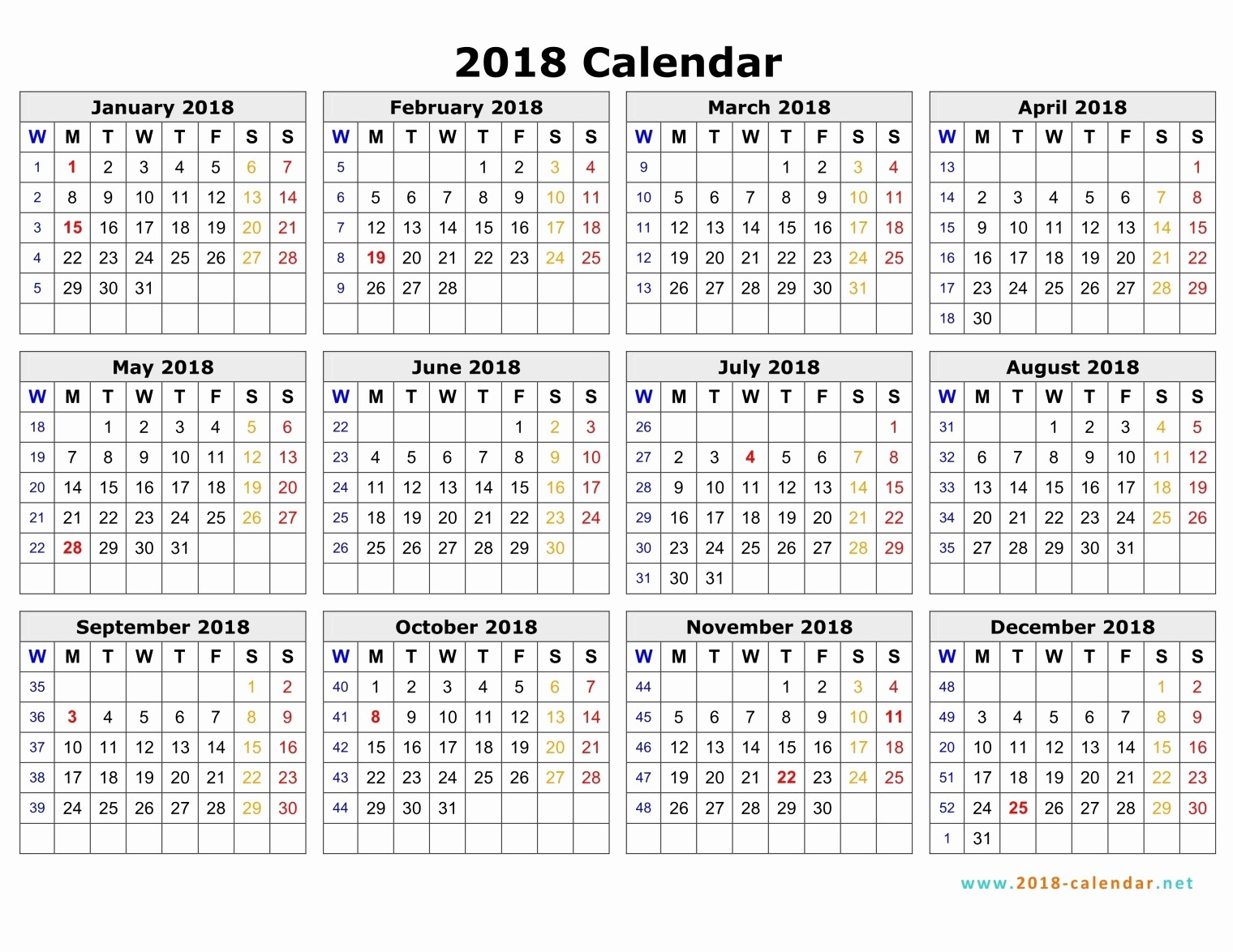 2018 and 2019 Printable Calendar Fresh October 2018 Calendar Australia – Printable Calendar 2018 2019