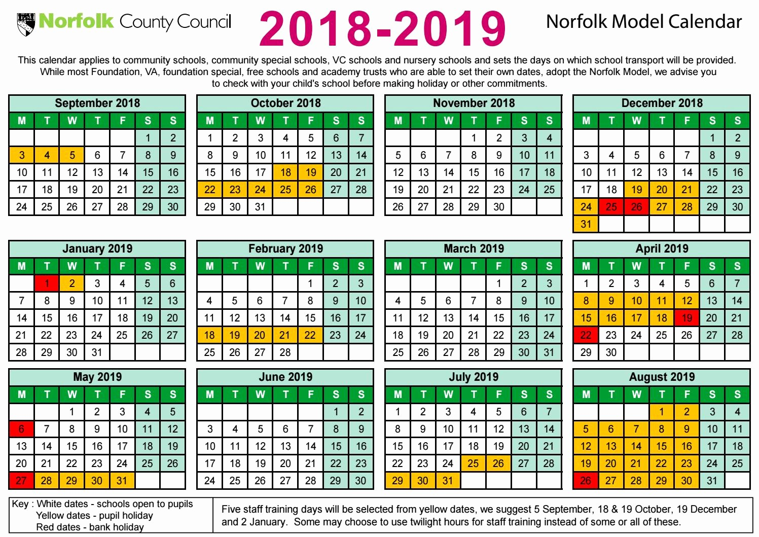 2018 and 2019 Printable Calendar Unique December and January Calendar 2018 2019