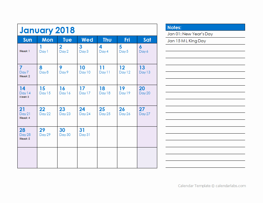 2018 Calendar with Julian Dates Lovely 2018 Julian Date Calendar Free Printable Templates