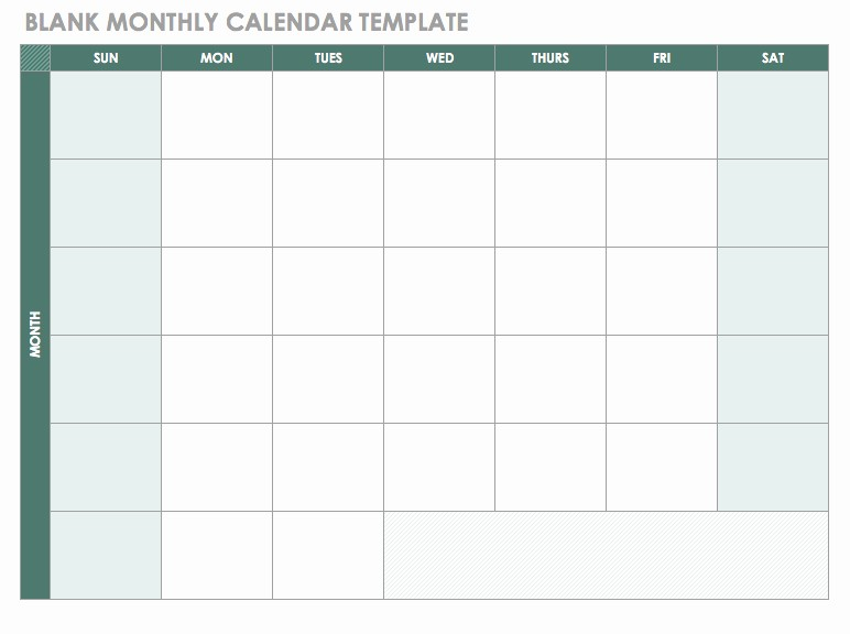 2018 Four Month Calendar Template Awesome Blank 2018 Monthly Calendar Template Ic 2018 Blank Monthly
