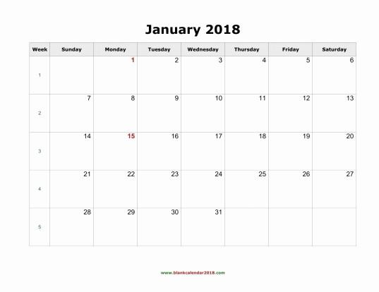 2018 Four Month Calendar Template Beautiful 12 Month 2018 Monthly Calendar Template