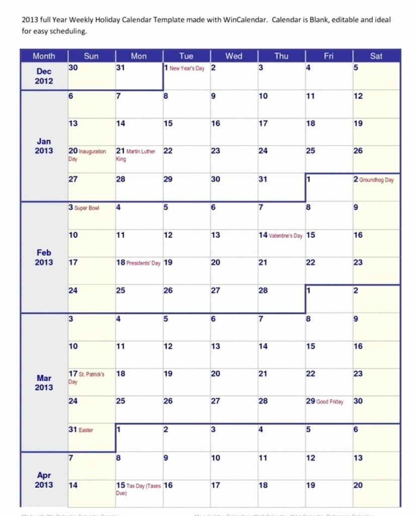 2018 Four Month Calendar Template New Lovely Printable 4 Month Calendar