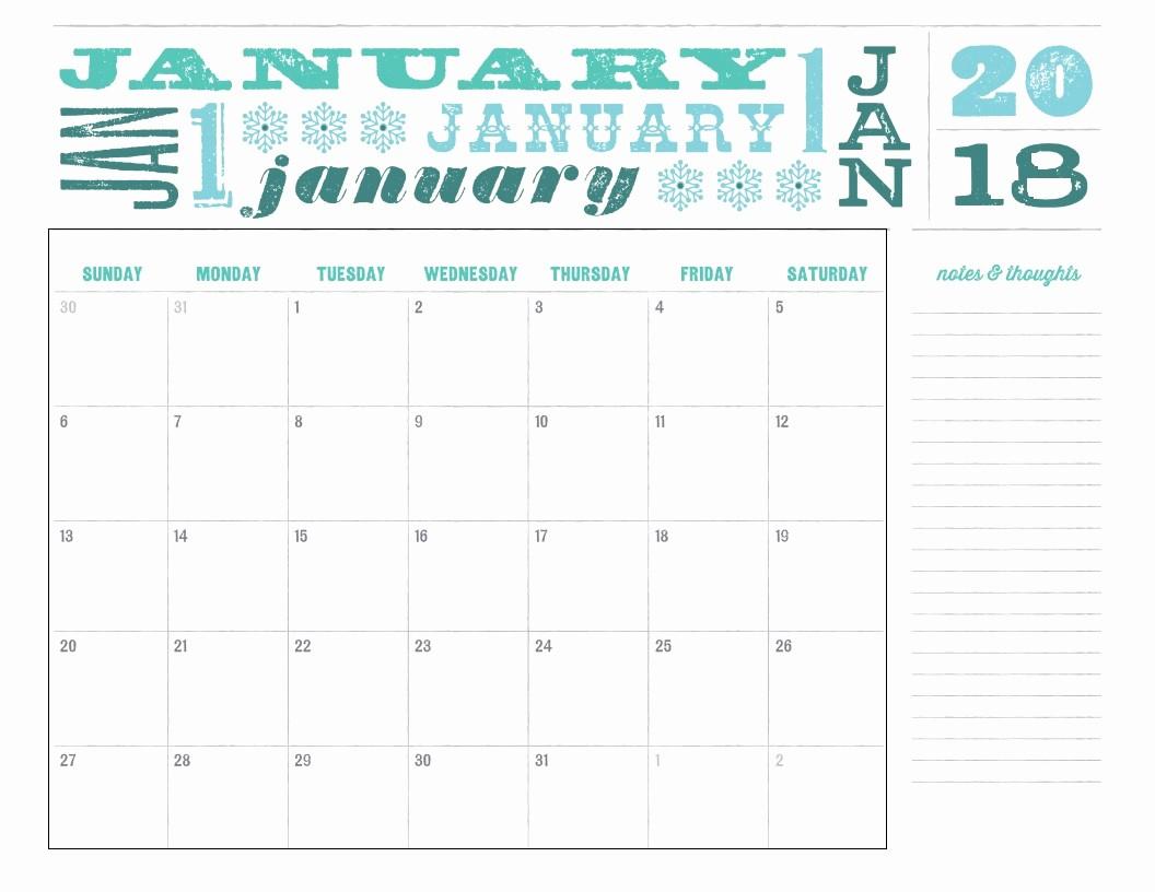 2018 Month by Month Calendar Awesome Twelve 12 Months 2018 Calendar