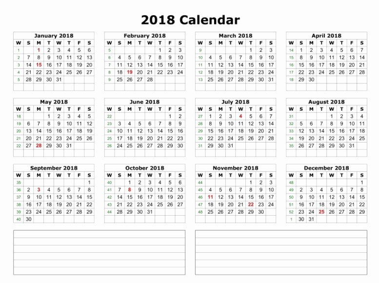 2018 Year Calendar One Page Best Of Calendar 2018 Printable E Page