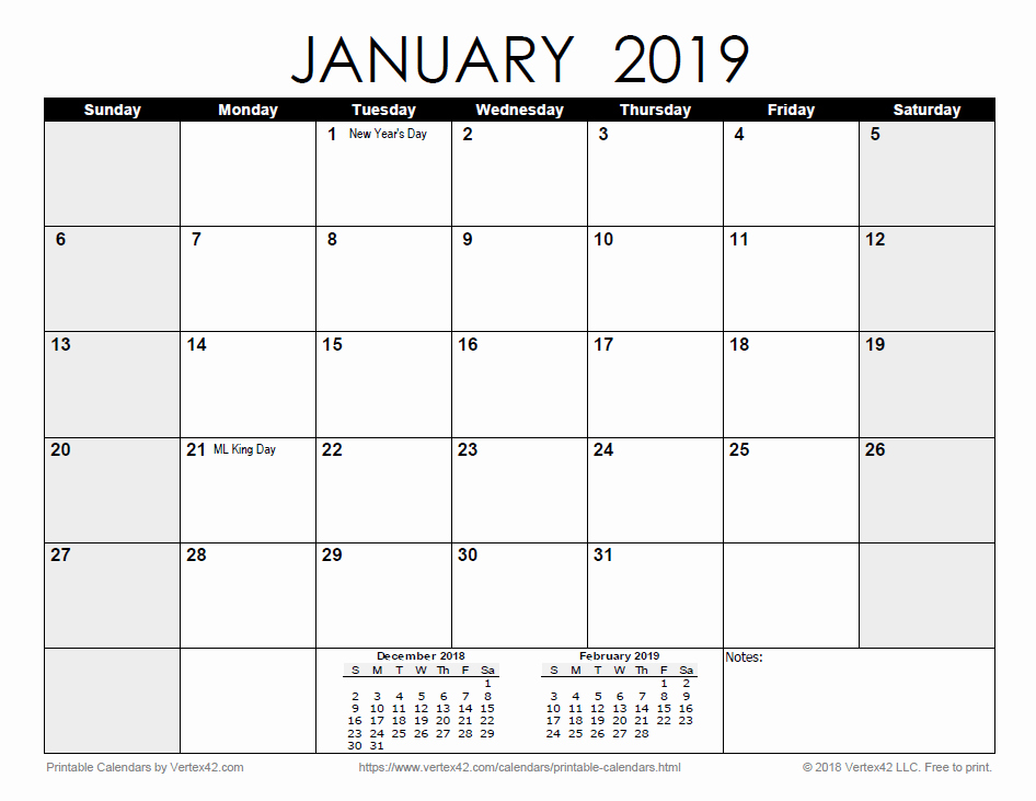 2019 Printable Calendar by Month Inspirational Free Printable Calendar Printable Monthly Calendars