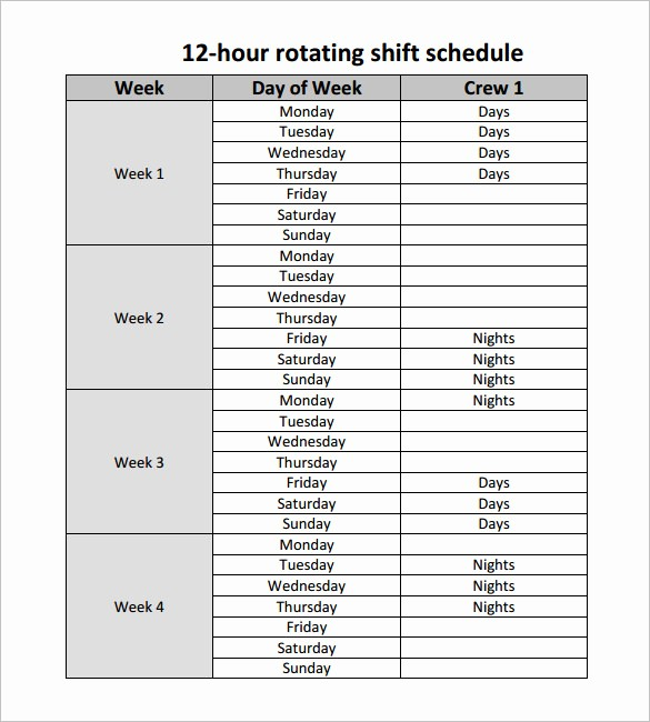 24 Hour Employee Schedule Template Beautiful 24 Hour Shift Schedule Template Download Templates