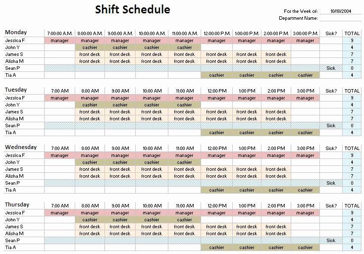 24 Hour Employee Schedule Template Beautiful Best 25 Schedule Templates Ideas On Pinterest
