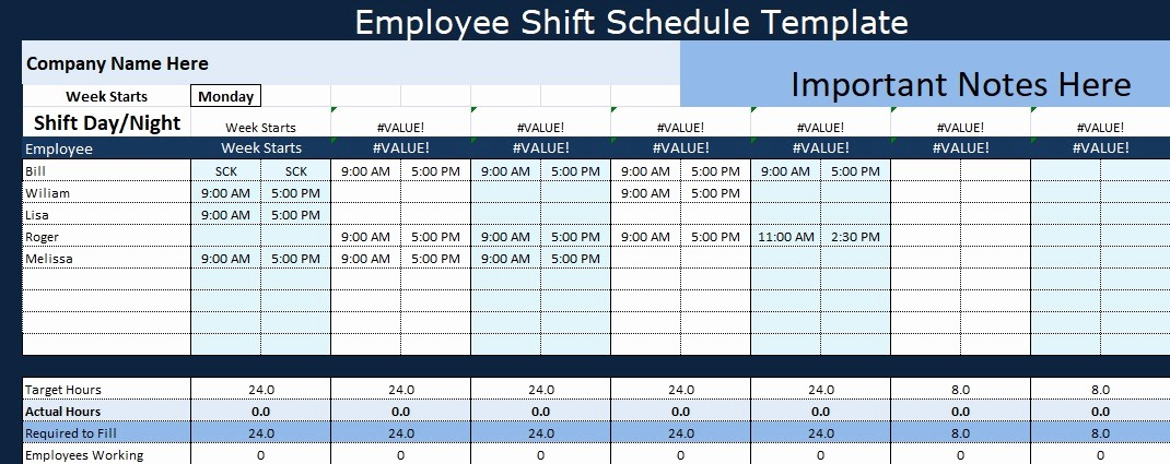 24 Hour Employee Schedule Template Elegant Employee Shift Schedule Template