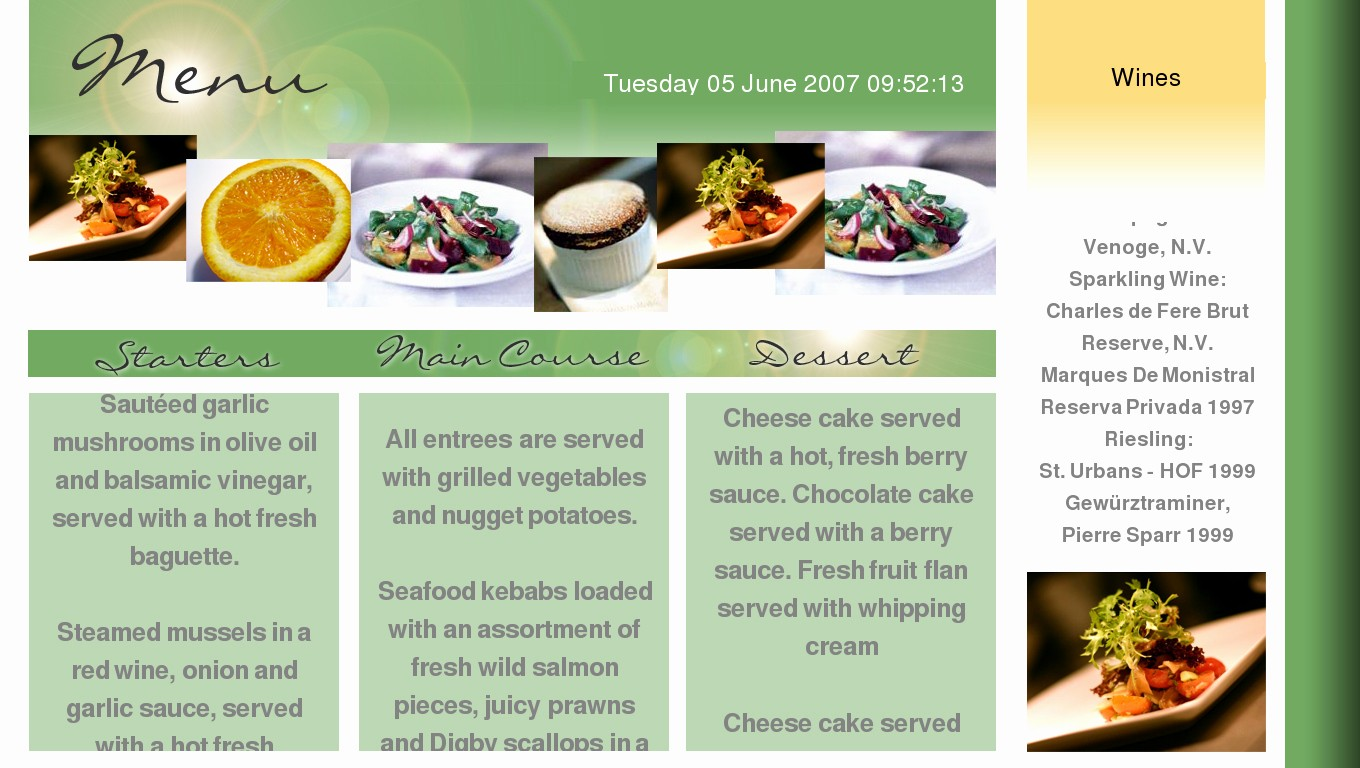 3 Course Meal Menu Templates New How is Your Food and Restaurant Vocabulary In English