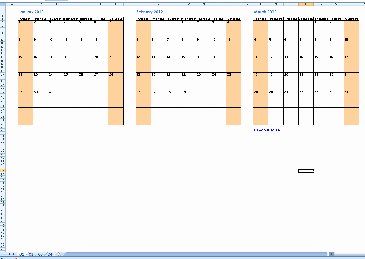 3 Month Blank Calendar Template Awesome Three Month Calendar Template