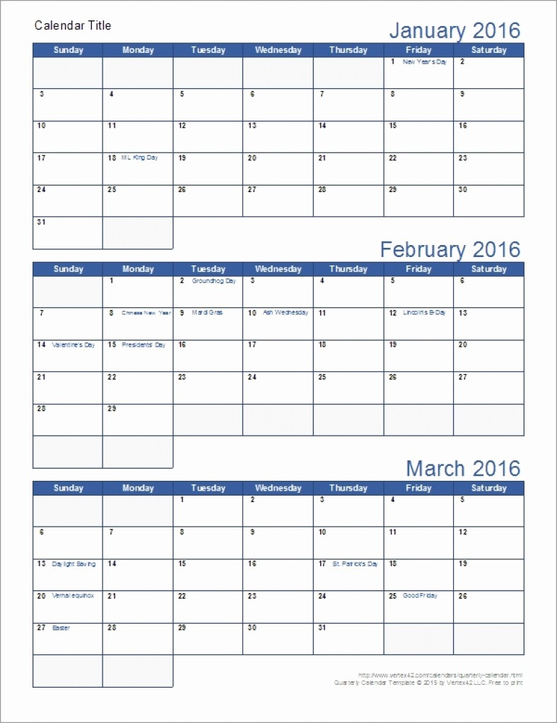 3 Month Blank Calendar Template Beautiful Free Printable Calendars 3 Month – Calendar Printable