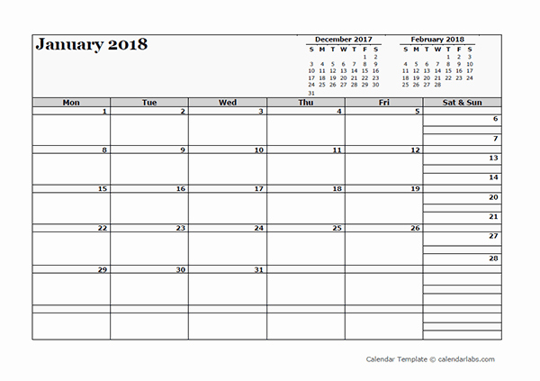 3 Month Blank Calendar Template Inspirational 2018 Blank Three Month Calendar Free Printable Templates