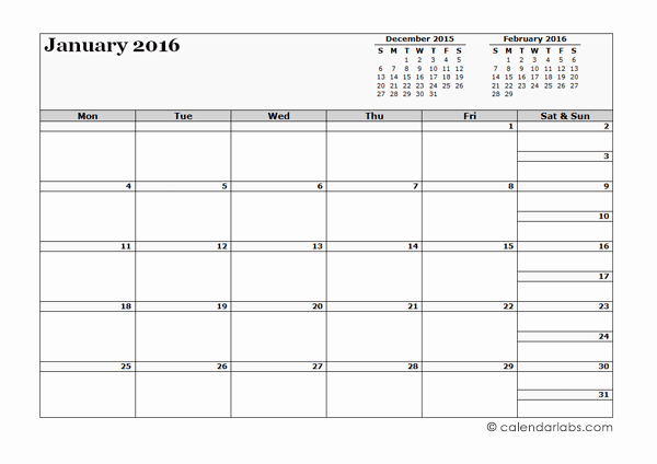 3 Month Blank Calendar Template Unique 2016 Blank Three Month Calendar Free Printable Templates