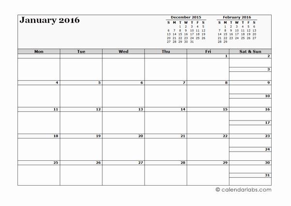 3 Month Blank Calendar Template Unique 2016 Blank Three Month Calendar Free Printable Templates