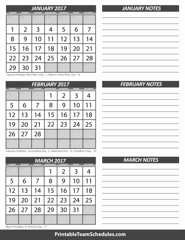 3 Month Blank Calendar Template Unique 25 Best Blank Calendar Templates Images On Pinterest