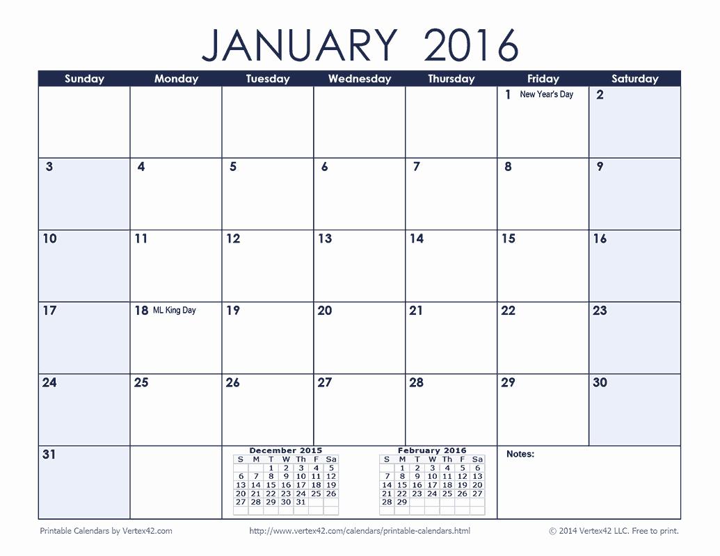 3 Month Calendar 2016 Template Beautiful Vertex42 Calendars 3 Month 2016